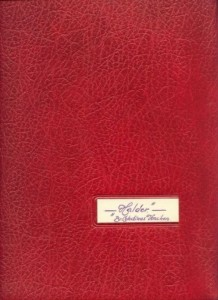 Plakboek van broeder Celestinus Halder