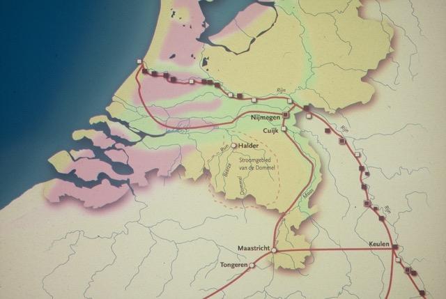 kaartje Halder in Romeinsgebied F1000042